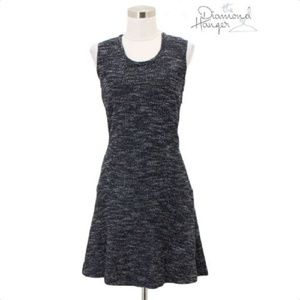 A26 THEORY Designer Dress Size 6 Small S Blue